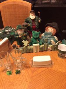 Irish memorabilia